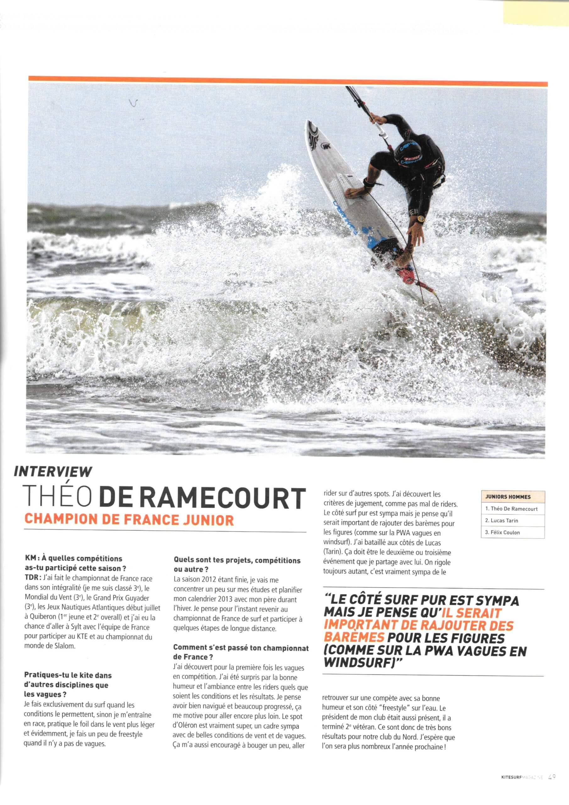 Janvier 2013 - Kitesurf Magazine